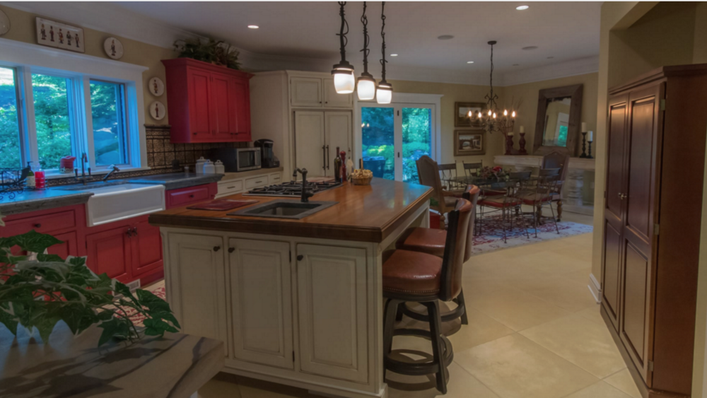 A kitchen remodeling project in Canonsburg, PA by Blackwood & Associates; see it  here .