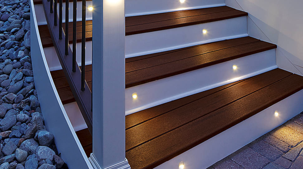 Deck Staircase Lighting, Butler, PA