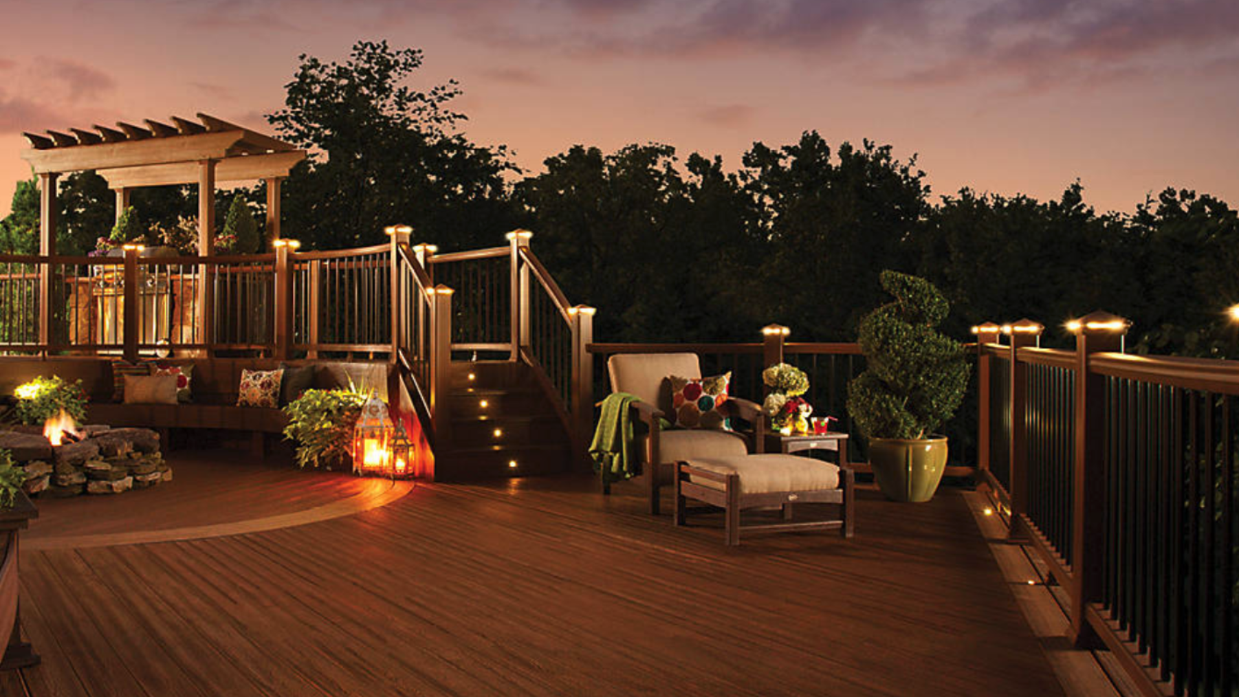 The best deck lighting trends for butler pa area homeowners the best deck lighting trends for butler pa area homeowners aloadofball Choice Image
