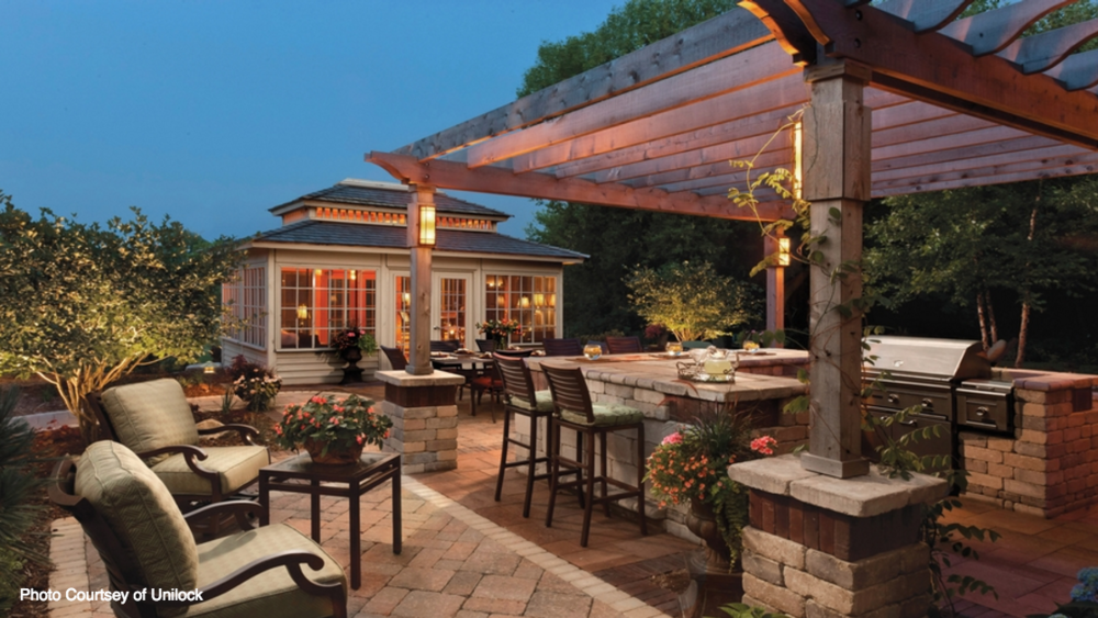 pergola landscaping in butler, PA and Sewickley, PA