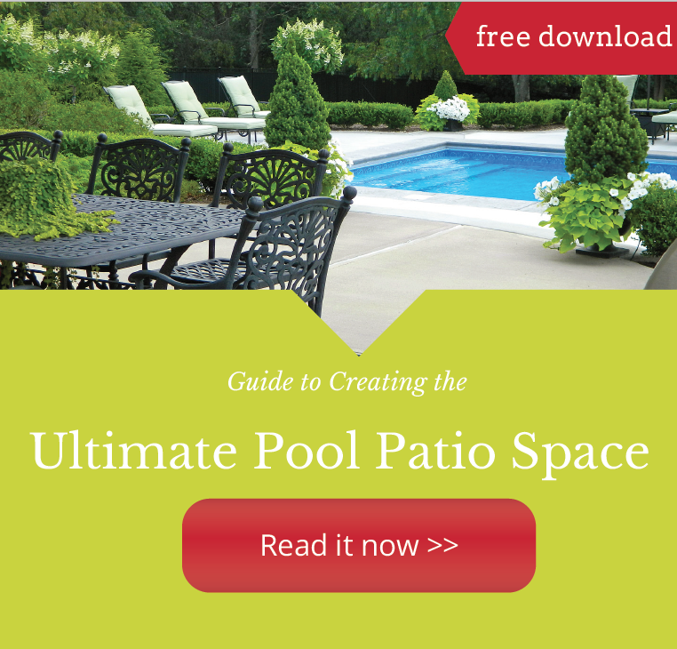 creating a beautiful swimming pool patio in Sewickley, PA area