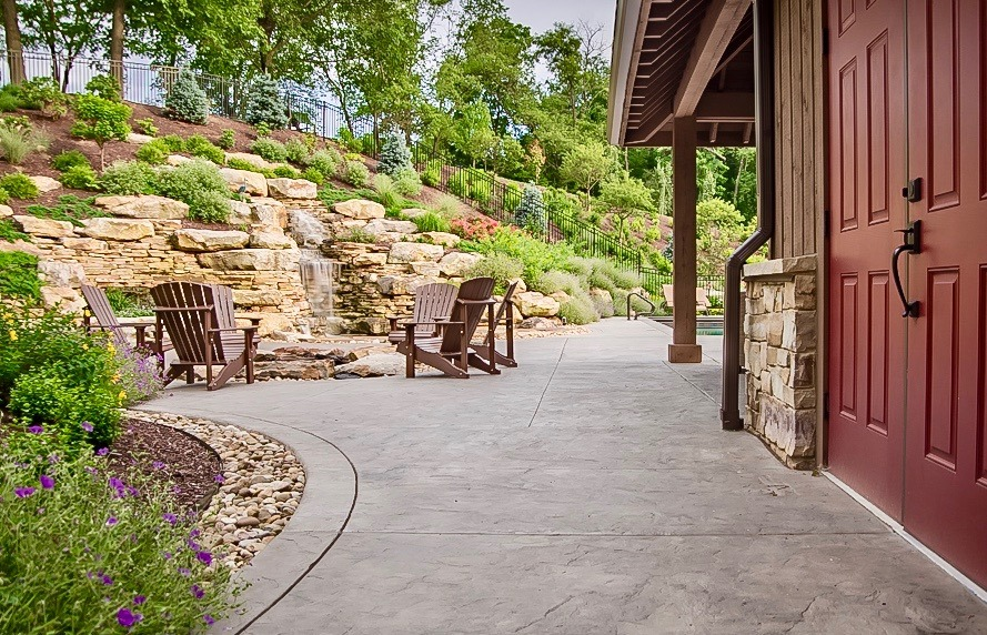 Landscape Design project in Sewickley Heights, PA by The Blackwood Group