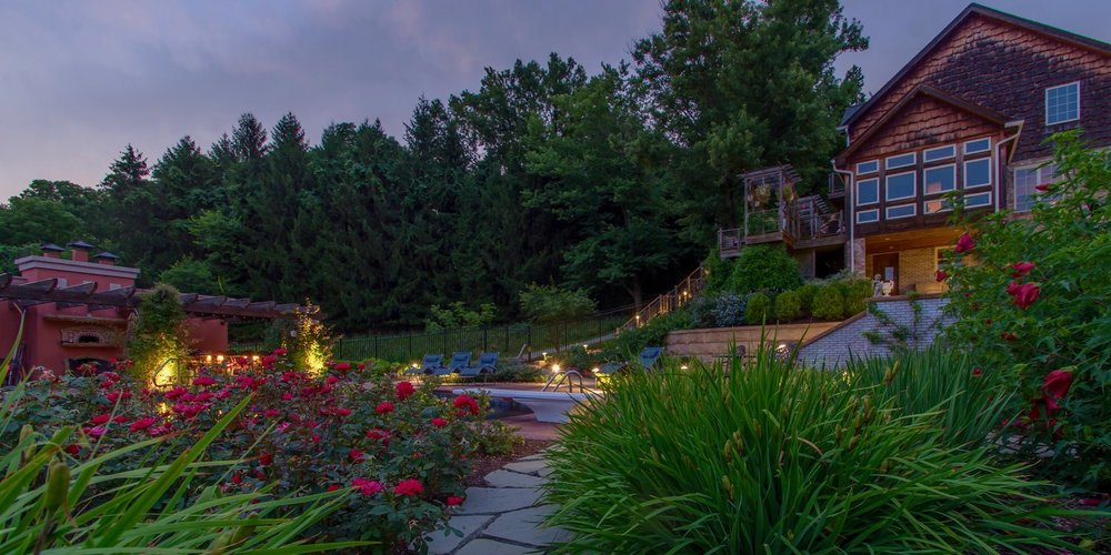 Landscape Design project in Jefferson Hills, PA by The Blackwood Group