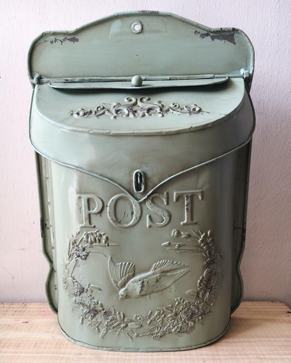 S01 Mint Green Mailbox