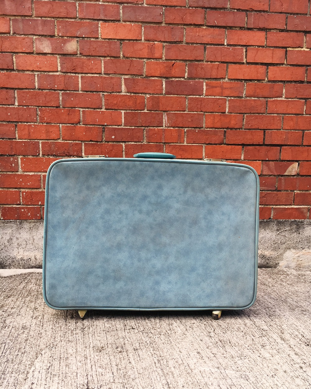 S04 Pale Blue Suitcase