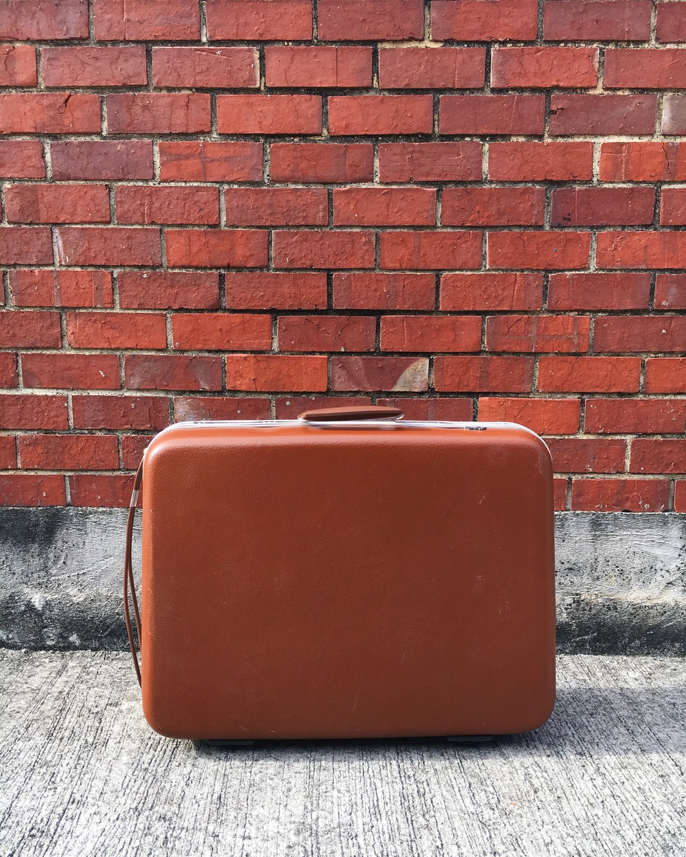 S02 Brown Suitcase