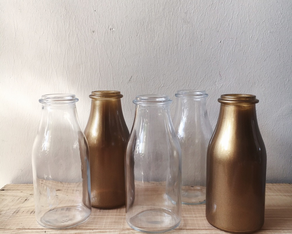 G05 Milk Glass Bottles