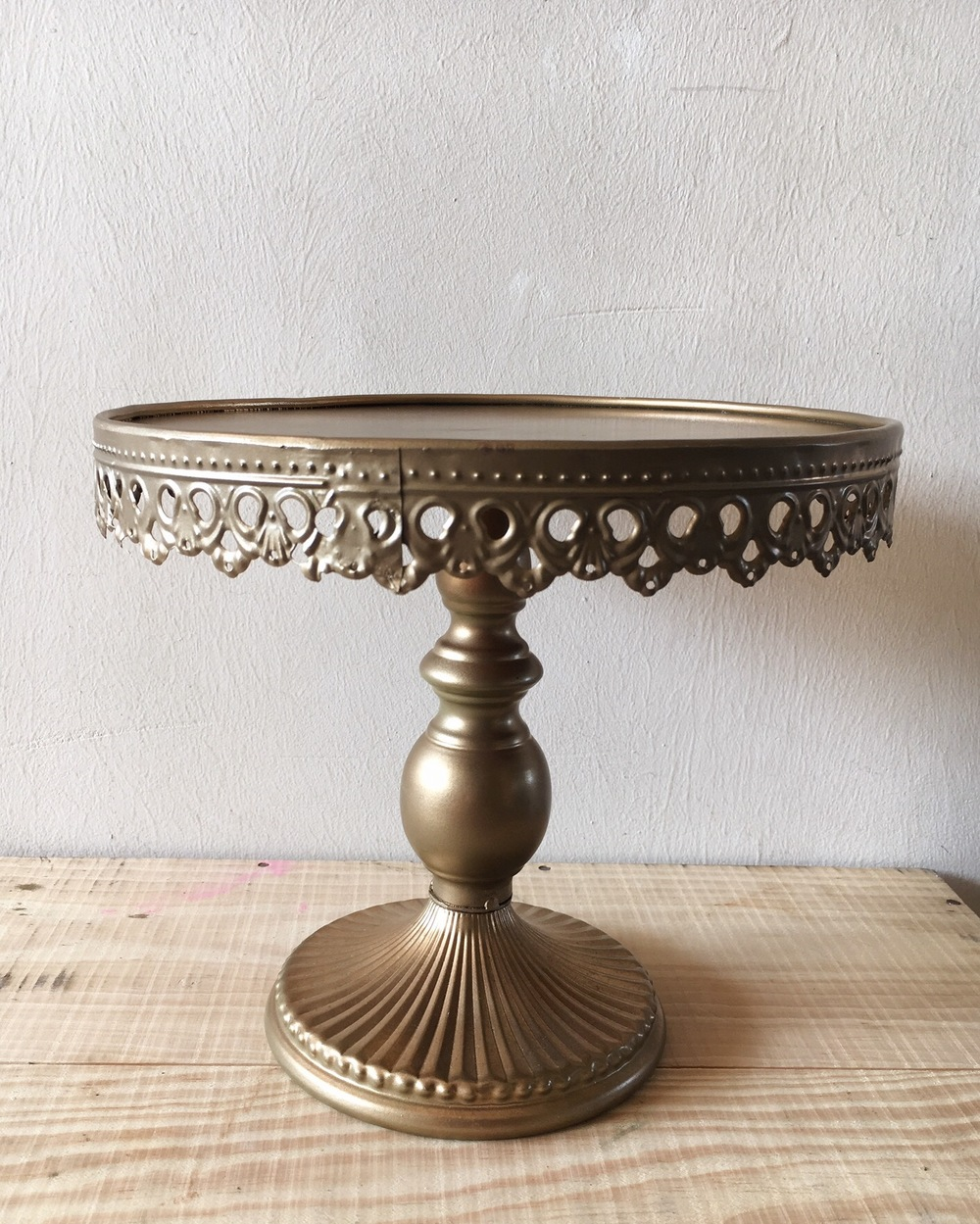 dessert table cake stand gold 2.JPG
