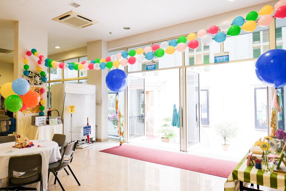 Up inspired wedding singapore