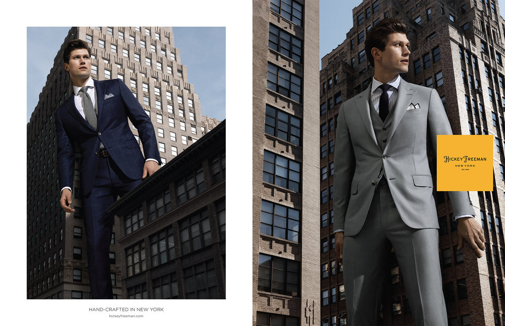 Hickey Freeman SS2016 campaign