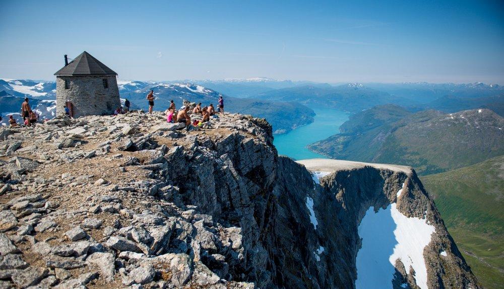 Skålatårnet. Foto: Sverre Hjørnevik/Fjord Norge