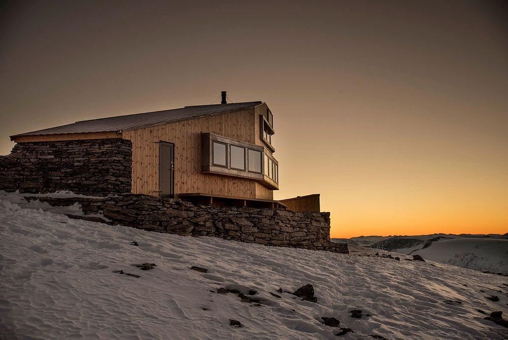 Skålabu. Foto: Bergen og Hordaland Turlag