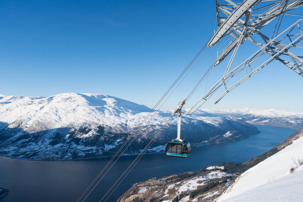 Loen Skylift. Foto: Bård Basberg