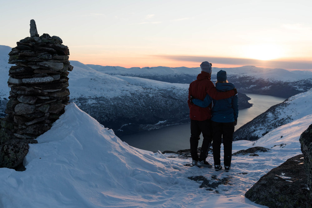 Vinter-vandring -