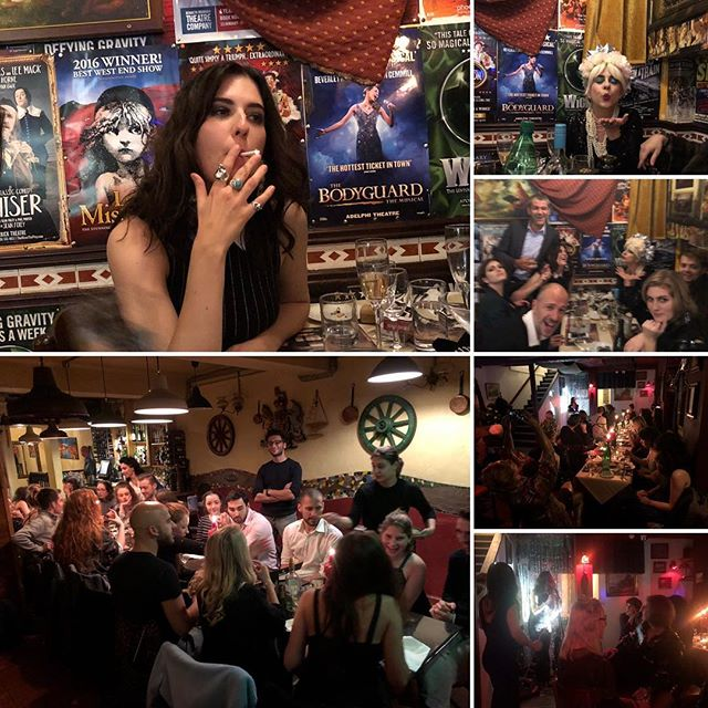 Happy Birthday Julia (: 😘 #medcafesoho  #berwickstreet #soho #birthdaygirl #eat #drink #fun #late #night #havefun #❤️