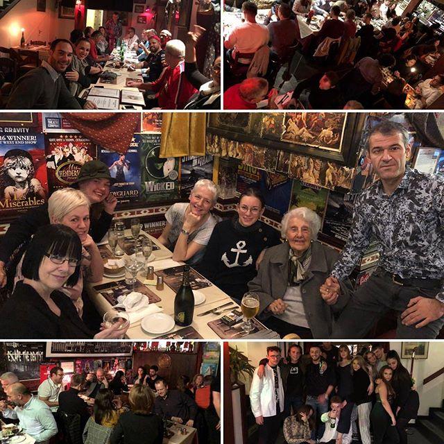 Brilliant night @medcafesoho #food #win #birthday #party #celebrity #fun #soho #london #❤️