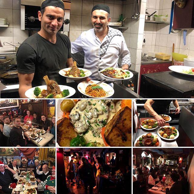 We are the best Mediterranean restaurant in London! @medcafesoho #christmas #party #nonstop #wine #berwickstreet #soho #london
