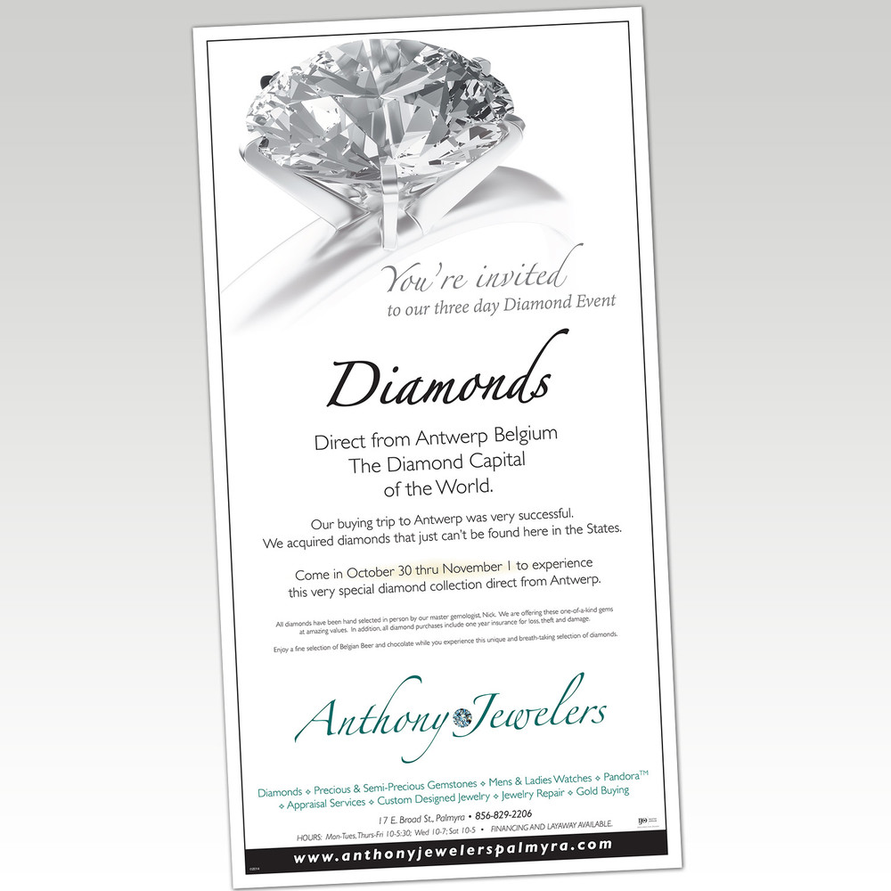 Anthony Jewelers Handout