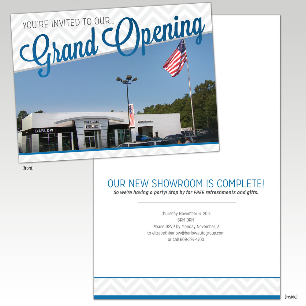 Manahawkin Grand Opening Invite