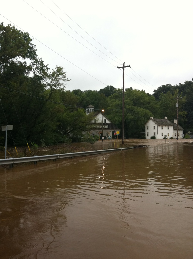 Hurricane Irene Second Flood September 8, 2011