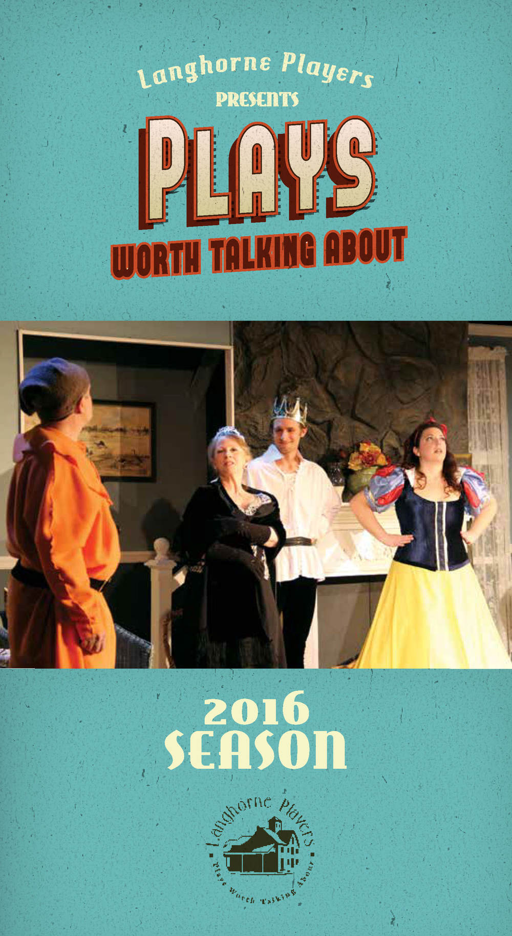 VIEW OUR 2016 SEASON BROCHURE