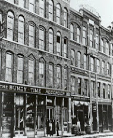 Bundy at 183, 185 Water Street