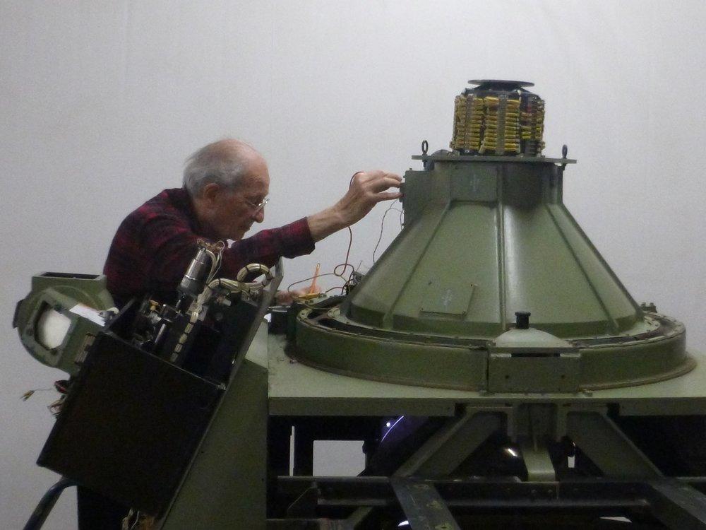 2017-01-26 Matt Baum ringing out LMS telescope starball motor.jpg