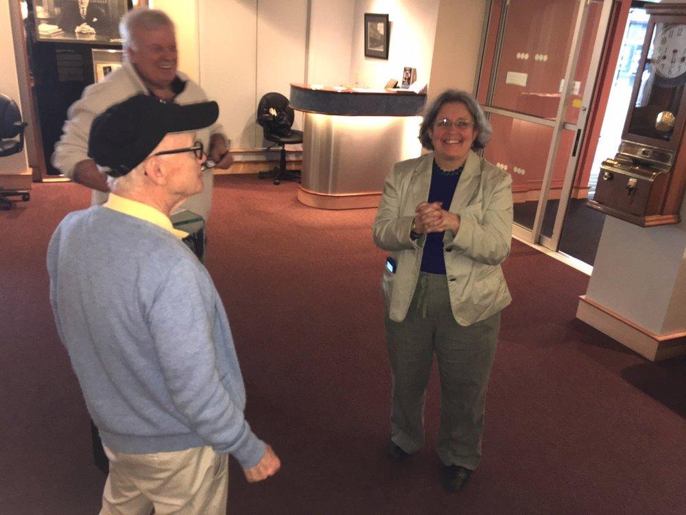 Jud McCarthy Ted Warner Susan Sherwood Endicott History Heritage Center.jpg