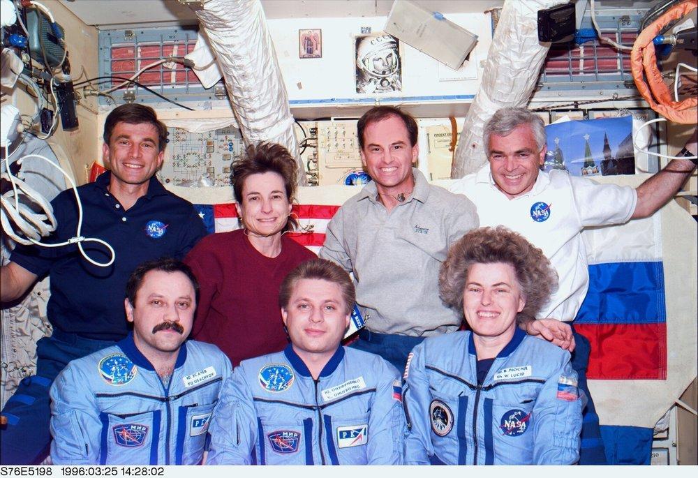 Frank Hughes, upper right