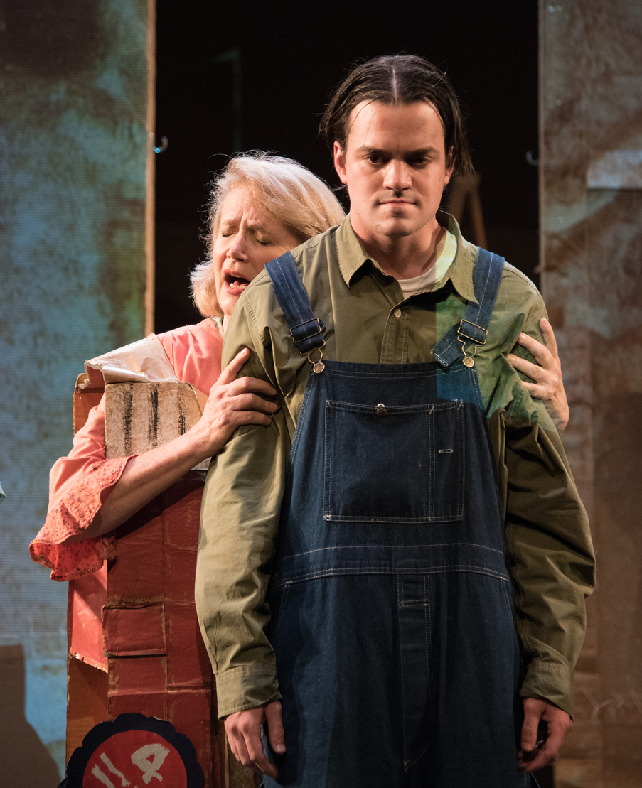 Mother, Soot and Spit , The New Ohio Theater's Ice Factory Festival (with Tad Cooley)