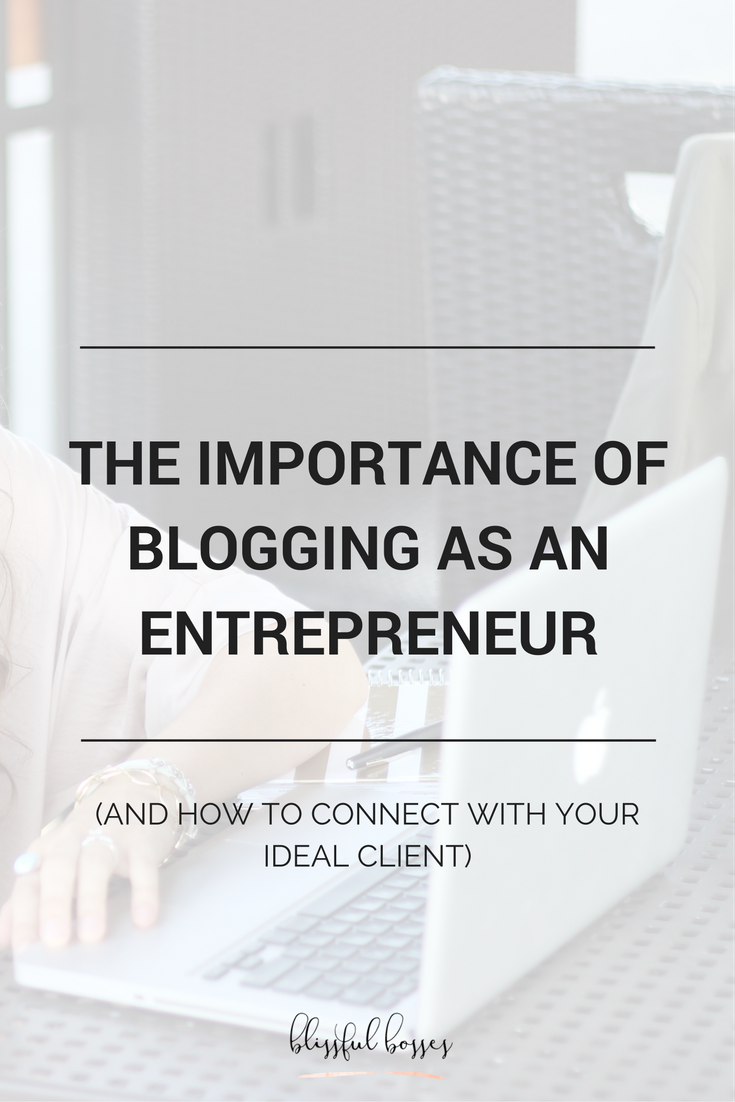 Blogging is extremely important in the startup of your business for SO many reasons. Click to see why and learn which topics you should blog about first!