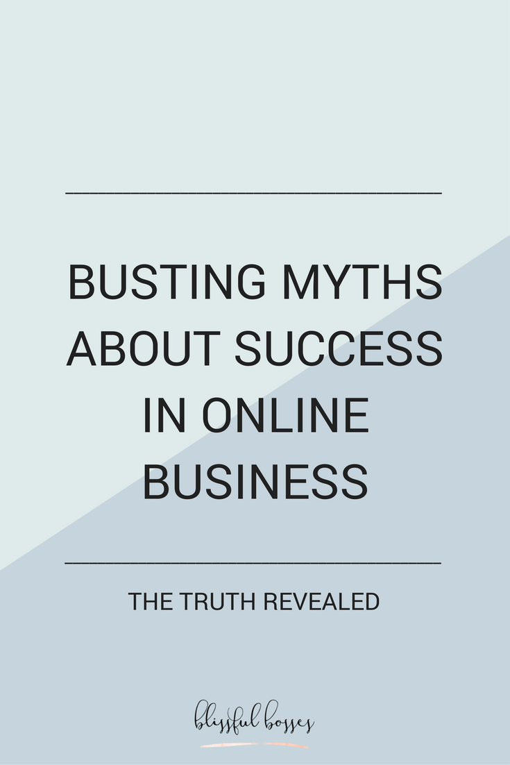 Busting myths about success in online business. Online business is where real job security is at. Use your passion to create time and financial freedom for yourself! Click through to see how!