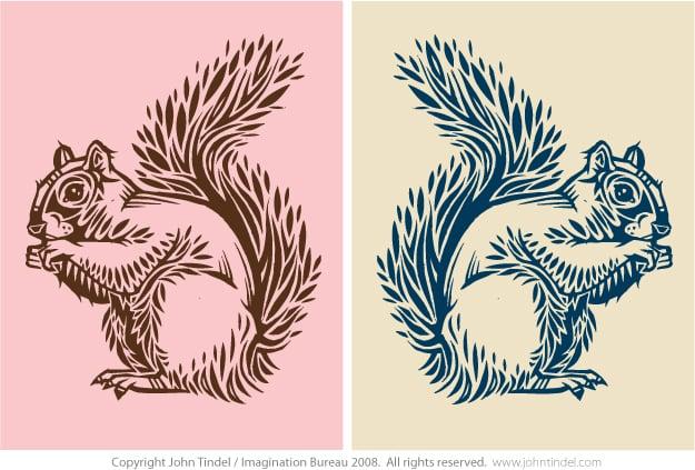Squirrel Design by TINDEL