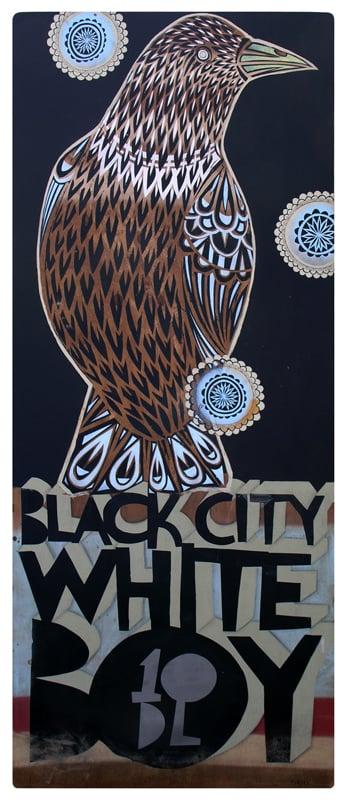 """""""Black City White Boy as an Omen"""" by TINDEL"""