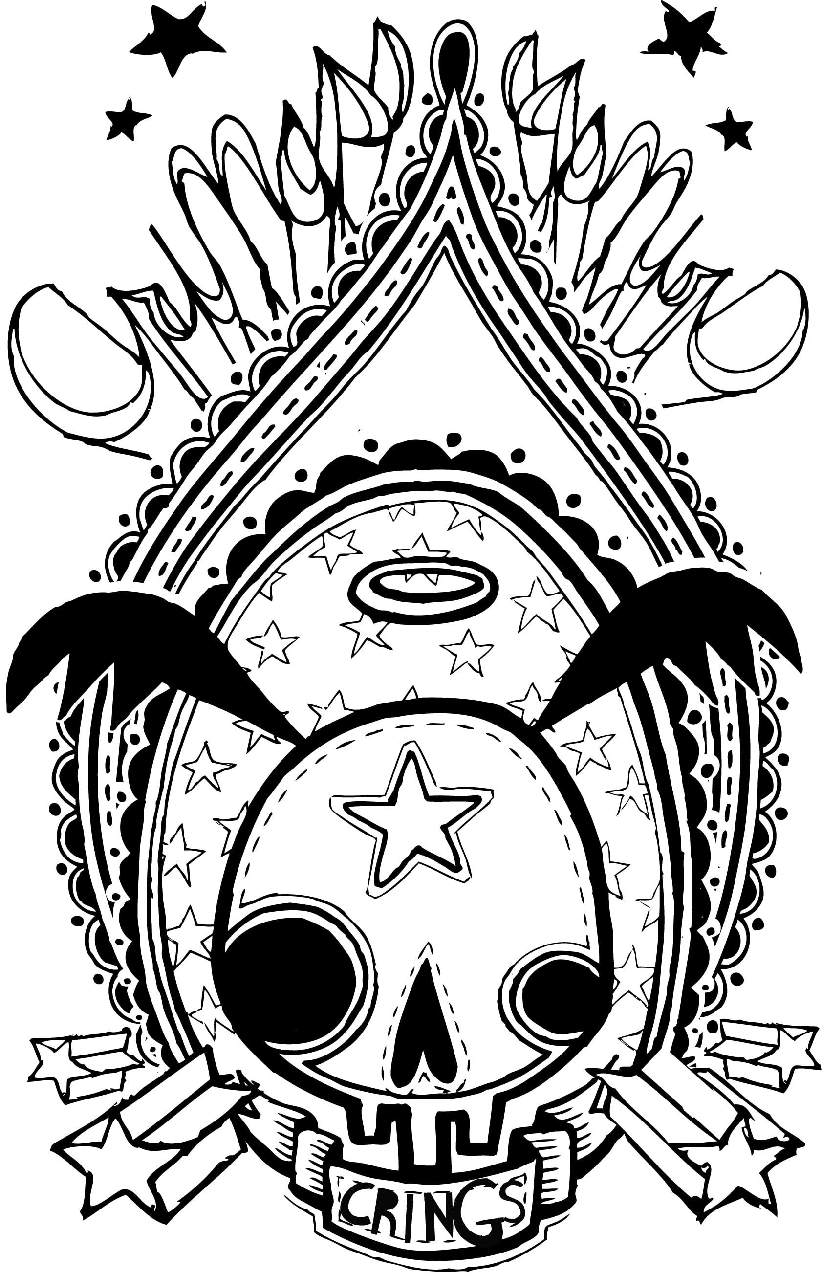 TINDELMICHI: Skulls