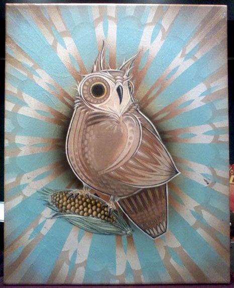 tindel owl commission