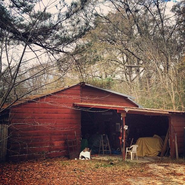 Exploring granddad barn #foundobject heaven. #history #tindel