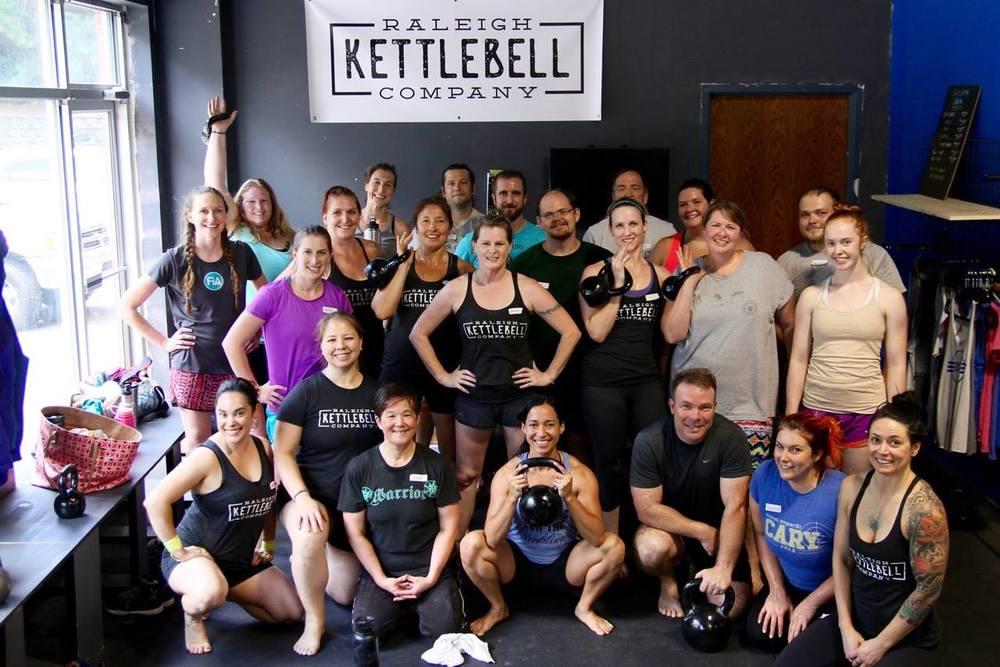 Raleigh Kettlebell Company Kettlebell Clinic