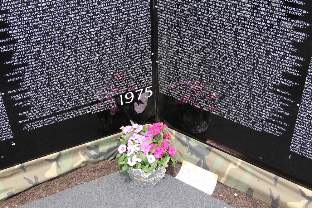 The memories and connections were powerful over the Memorial Day weekend in Thomaston, Maine as thousands came to pay their respects at The Moving Wall Vietnam Veterans Memorial exhibit.