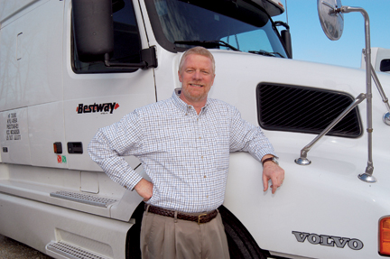 Shepard Dunn with Bestway Express