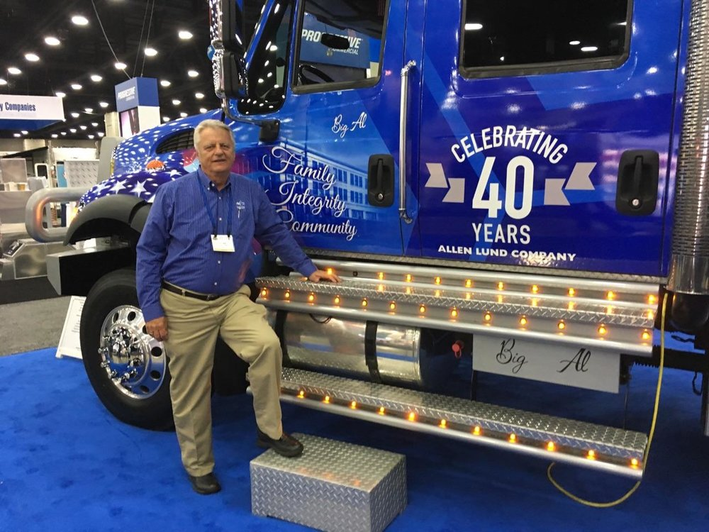 Bill seen here at recent industry show