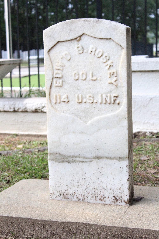 Fort McClellan Cemetery Roskey Headstone.JPG
