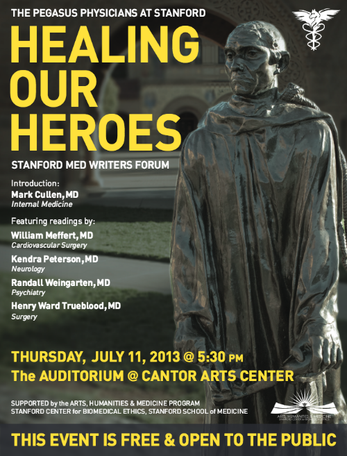 Healing Our Heroes — The Pegasus Physician Writers at Stanford