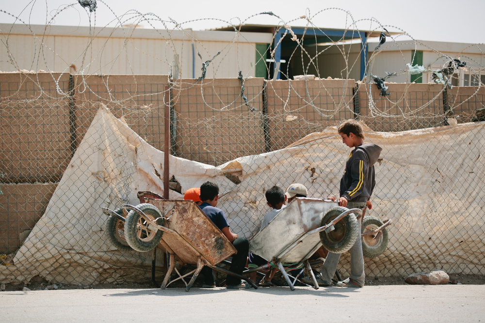 Zaatari Refugee Camp, Jordan