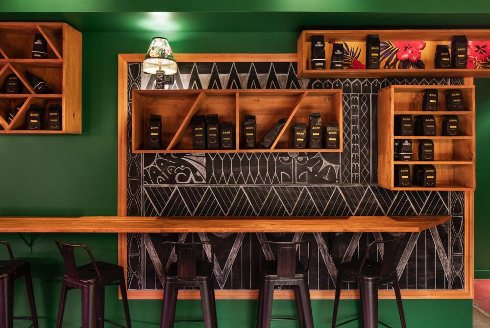 Aloha Espresso Bar, Montréal, 2017, © ADRIEN WILLIAMS