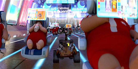 WALL-E, Pixar, 2009