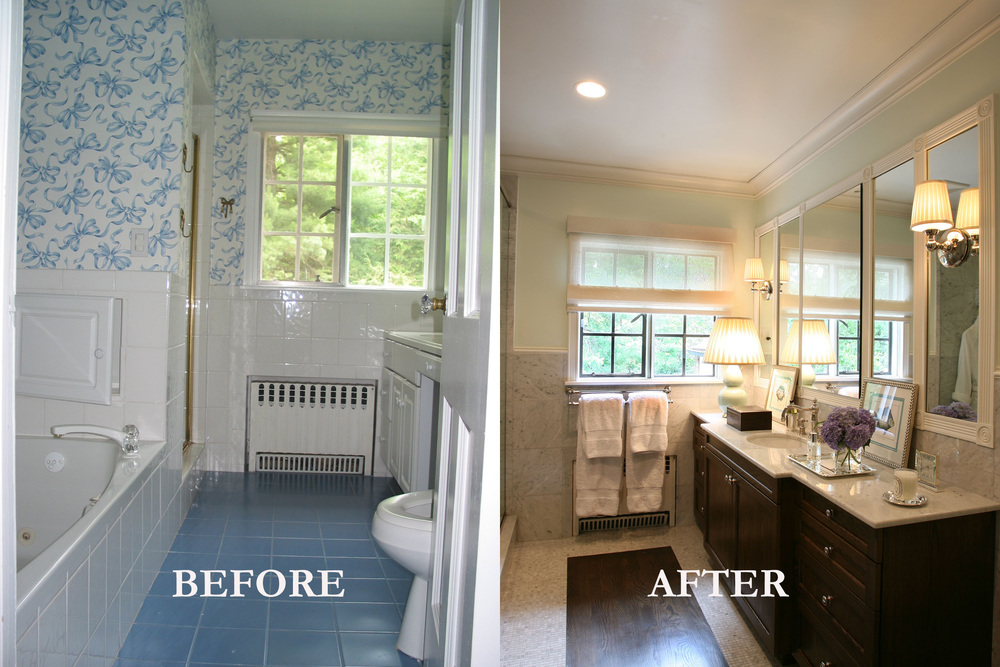 Rod Winterrowd | Before and After | Bronxville, NY | Master Bathroom