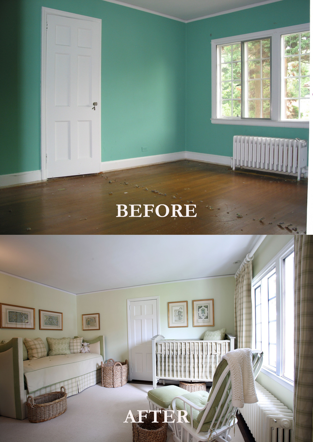 Rod Winterrowd | Before and After | Bronxville, NY | Nursery