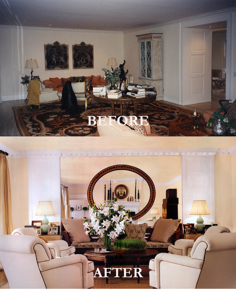 Rod Winterrowd | Before and After | Southampton, NY | Living Room