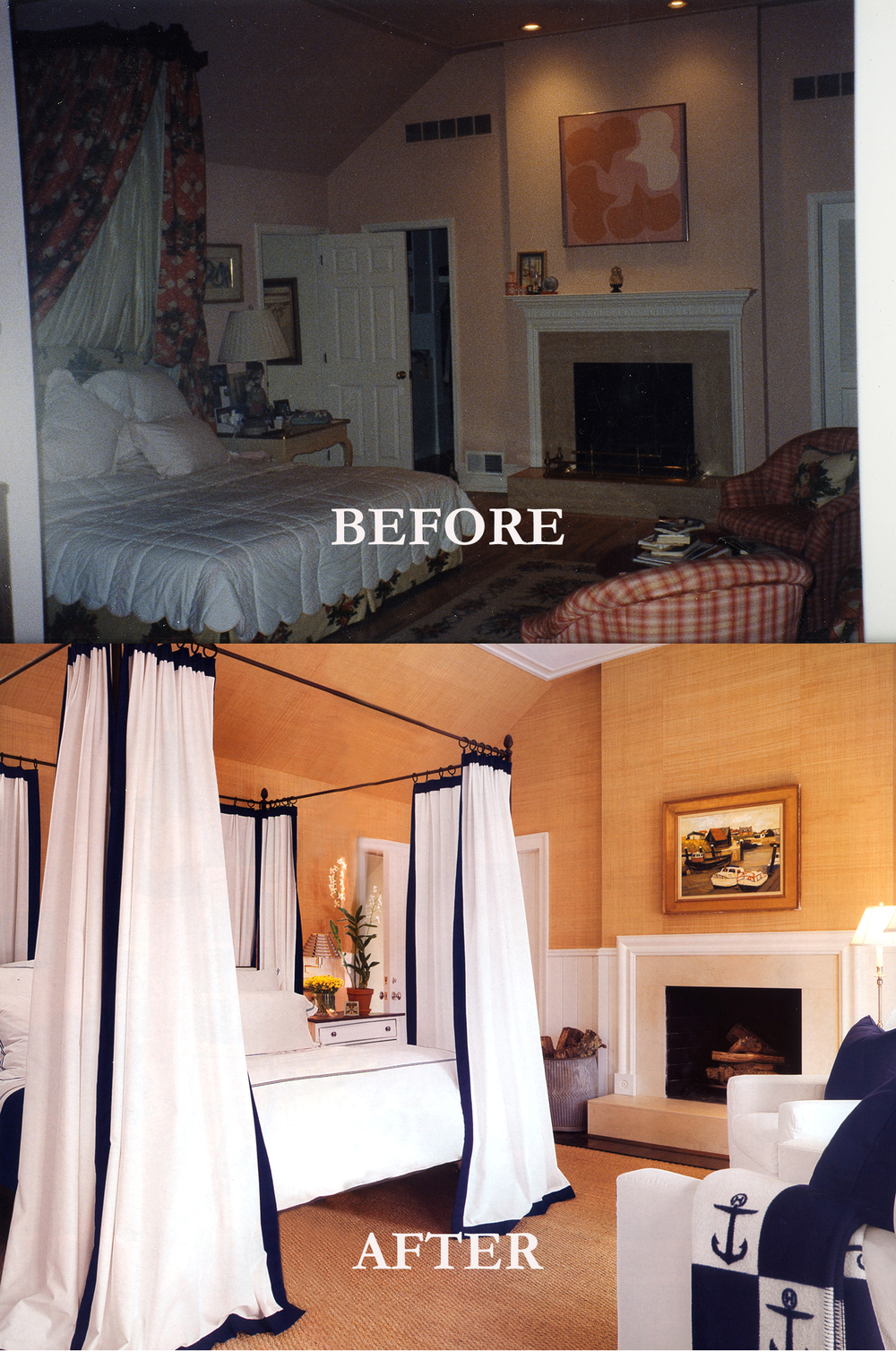 Rod Winterrowd | Before and After | Southampton, NY | Master Bedroom
